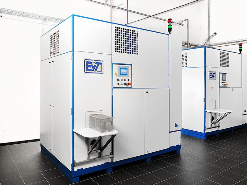 EVT lösemittelbasierte Entfettungsanlage Nano
