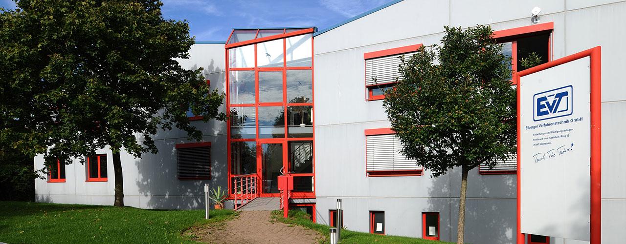 EVT Firmensitz in Sternenfels - Frontansicht