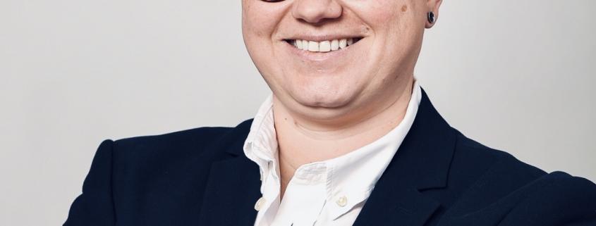 Julia Scharmann, Leiter Marketing & Kommunikation