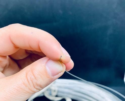 Kapillar-Rohr als Coil